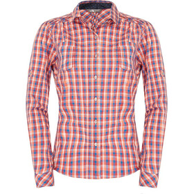 The North Face L/S Plaid Dam clear lake blue plaid